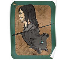 Sirius Black Playing Card Poster