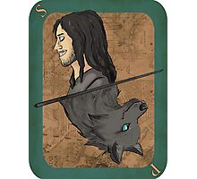 Sirius Black Playing Card Photographic Print