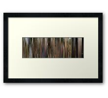Moviebarcode: Conte d'automne / Autumn Tale (1998) Framed Print