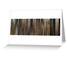 Moviebarcode: Conte d'automne / Autumn Tale (1998) Greeting Card