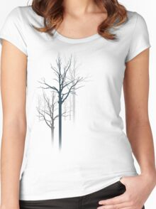 TREES2 Women's Fitted Scoop T-Shirt