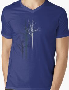 TREES2 Mens V-Neck T-Shirt