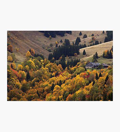 Alpine beauty in autumn Photographic Print