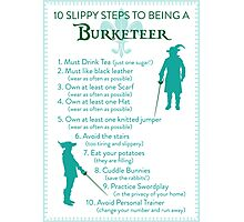 10 Slippy Steps ~ Burketeer Photographic Print