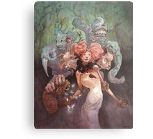 The Fanglehorn Troupe Metal Print