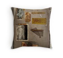 Altered, Annie Chapman Bio Page Throw Pillow
