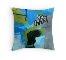 yard signs Throw Pillow