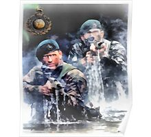 Royal Marines Commando Poster