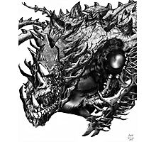 Dragon Machine [Digital Fantasy Illustration] Photographic Print