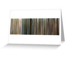 Moviebarcode: Contes des quatre saisons / Tales of the Four Seasons (1990-1998) Greeting Card