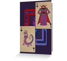 Top Scourges Greeting Card