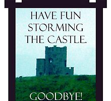 Have Fun Storming the Castle by sisterphipps