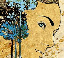Agapanthus by Barbara Glatzeder