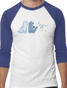 Knittens Men's Baseball ¾ T-Shirt