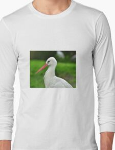Stork bird Long Sleeve T-Shirt