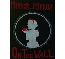 Mirror, Mirror Photographic Print