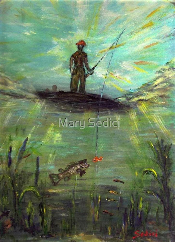 Fish Perspective  by Mary Sedici