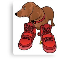Jeff in Red Octobers Toon Canvas Print