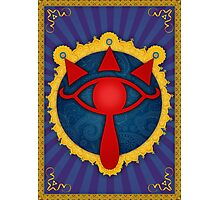 Arabesque Eye of Sheikah Photographic Print