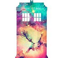 The Tardis- Doctor Who by MarvelousPayton