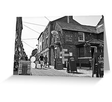 Buck i'th Vine - Ormskirk Greeting Card