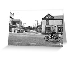 3 Wheels - Ormskirk Greeting Card