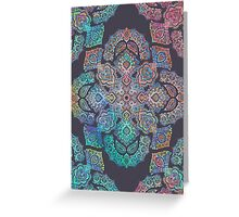 Boho Intense Greeting Card