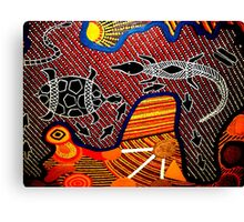 Outback Reptiles Canvas Print