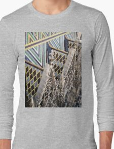 St. Stephan's Roof - Vienna, Austria Long Sleeve T-Shirt