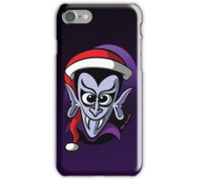 Christmas Dracula iPhone Case/Skin