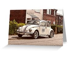 Herbie Comes To Ormskirk! Greeting Card