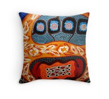 Life for the outback Throw Pillow