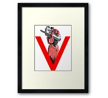Phantom Pain  Framed Print