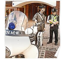 Police Old & New Poster