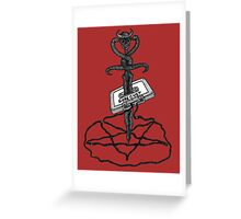 Gore Cyst  Greeting Card