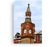 Ormskirk Clock Tower Canvas Print