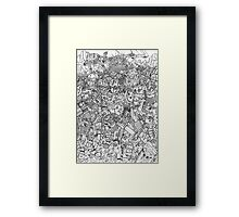 Armored Army Framed Print