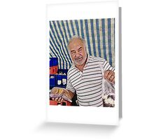 Ormskirk Cake Man Greeting Card