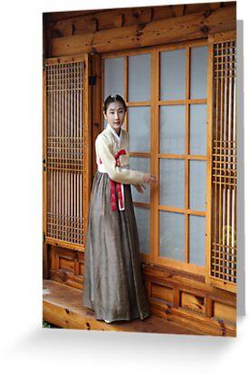 Korean Hanok and Hanbok by Jane McDougall