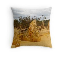 The Pinnacles, Cervantes, Western Australia #4 Throw Pillow