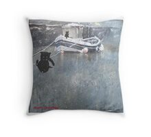 Jack Coble Christmas Card Throw Pillow