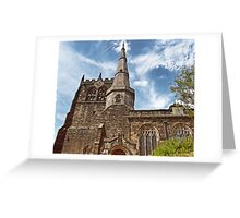 Ormskirk Parish Church Greeting Card