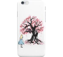 The Cheshire's Tree sumi-e iPhone Case/Skin