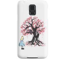 The Cheshire's Tree sumi-e Samsung Galaxy Case/Skin