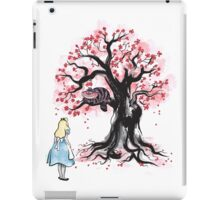 The Cheshire's Tree sumi-e iPad Case/Skin