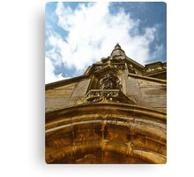 Pointing To Heaven Canvas Print