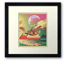 From the Sea to the Sky  Framed Print