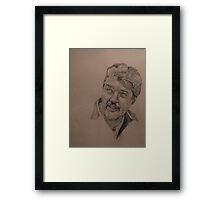Sketch for Ivan Framed Print