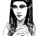 Cleopatra Portrait by vertizart