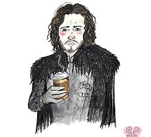 Jon Snow, Winters Coming by sarcochrane